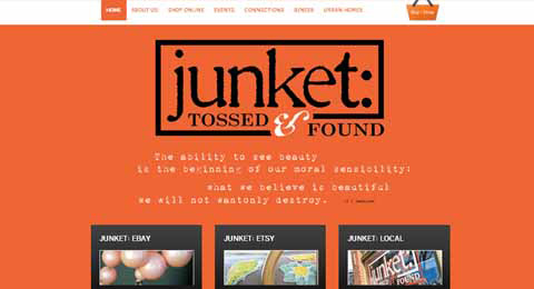 Junket Tossed and Found --> http://junkettossedandfound.com